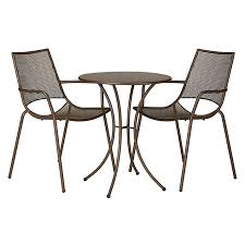 ala mesh garden table and chairs bistro