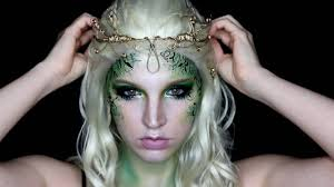 makeup tutorial forest fairy saubhaya