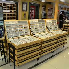 ase jewellery showroom wooden display