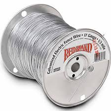 Red Brand Galvanized Electric Fence Wire 17 Gauge 2640 Ft At Tractor Supply Co