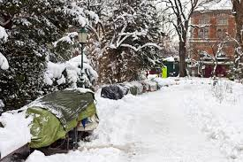 Gimme Shelter: Keeping Homeless Warm in a Blizzard is Easier Said Than Done