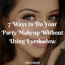 how to do your party makeup saubhaya