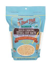 organic quick cooking steel cut oats