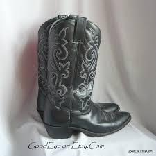 mens vintage justin cowboy boots size