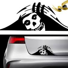 Misfits Skull Trunk Peek Vinyl Decal Sticker Car Jdm 26 2 25k 0 0 Monster Ebay