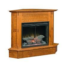 modesto corner fireplace shipshewana