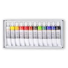 stain glass paint set 12 count 12 ml
