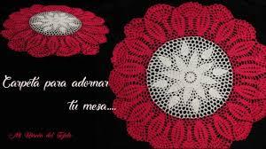 mesa paso a paso tejida a crochet