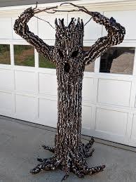 Diy Halloween Creepy Tree The Craft Crib