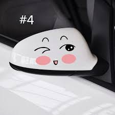 1 Pcs Cute Car Side Mirror Sticker Auto Truck Rearview Mirror Decal Door Mirror Decoration Buy At A Low Prices On Joom E Commerce Platform