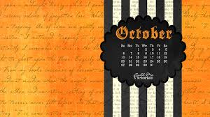 october 2016 desktop calendar wallpaper