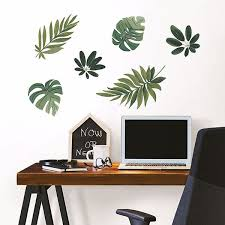 dwpk2761 havana leaves wall decal