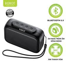 Loa Bluetooth 5.0 ROBOT RB100 Thanh âm tuyệt đỉnh Công suất lớn Sạc nhanh  Kết nối nhanh Thời gian sử dụng dài -R100