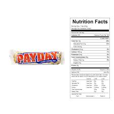 payday candy bars 18 ct vending