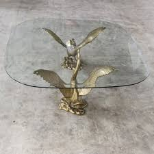 sculptural goose coffee table with
