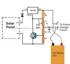 Electronic Circuit Projects Make This Solar Powered Fence Charger Circuit Fence Charger Solar Charger Electronic Circuit Projects