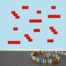 Sweetums Signatures Blocks Wall Decal Pack Blocks Legos Building Kids Nursery Wall Art Decals