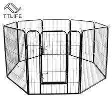 Pet Fence Portable Popular Open Indoor Outdoor Large Animal Cage Playground Fence Medium And Large Dog Fence Fast Delivery Houses Kennels Pens Aliexpress