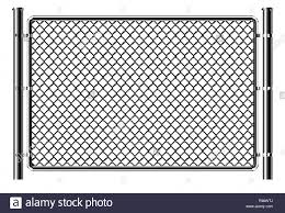 Realistic Metal Chain Link Fence Art Design Gate Prison Barrier Secured Property The Chain Link Of Fence Wire Mesh Steel Metal Rabitz Stock Vector Image Art Alamy
