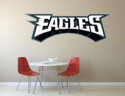 Nfl Logo Decal Eagles Nfl Decal Eagles Stickers Philadelphia Eagles Large Decal Eagles Decal Eagles Sticker Eagles Wall Decal Philadelphia Eagles Logo Decal Eagles Decor Pf76 22 X 7 Home Kitchen