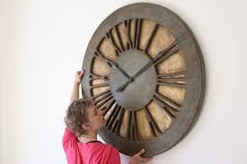 extra large wall clocks with a wow