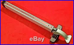 Craftsman Table Saw Rip Fence Model 137 218300 R A R E Table Saw Fence
