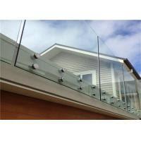 Simple Design Tempered Glass Pool Fence Panels Glass Handrail Systems For Decks Of Buildingrailing