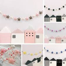 Hot Discount 7263 Ins Globe Nordic Baby Room Handmade Star Garlands Kids Room Wall Decorations Props Best Gift For Home Decoration Accessories Cicig Co