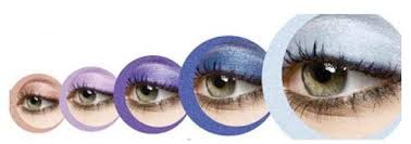 oriflame pure colour eye shadow palette