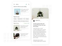 medium app redesign by navaneetha kannan on dribbble