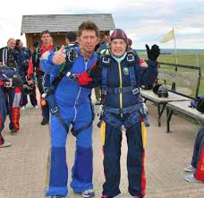 Daredevil Ada, 89 skydives for charity | Bournemouth Echo