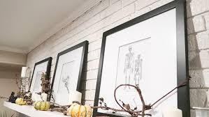 Free Halloween Printable Wall Art Human Skull And Bones Art