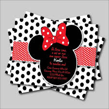 14 Unids Lote Minnie Mouse Invitacion De Cumpleanos Mickey Minnie