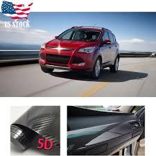 Car Body Sticker Dual Racing Stripe Decal Vinyl Accessories For Ford Escape Ebay
