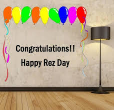 Second Life Marketplace Mg Congratulations Happy Rez Day Wall Decal