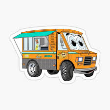 Food Truck Stickers Redbubble
