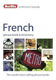 berlitz french phrase book dictionary