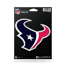 Houston Texans Decal 5 5x5 Die Cut Bling Sports Fan Shop