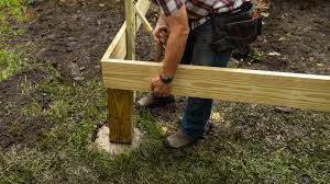 How To Attach A Wood Post To Concrete Today S Homeowner