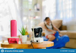 Cctv Ip Camera Security Monitoring Playing Room For Kids Stock Image Image Of Electronic Alarm 144619987