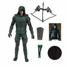 Dc Multiverse Green Arrow Action Figure Forbidden Planet