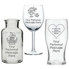 personalised end vase wine pint