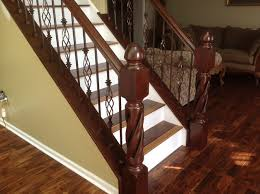 copper vein baers with large newel