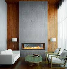 long narrow gas fireplaces can look