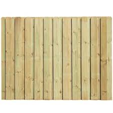 Red Lantern 4 Ft H X 3 Ft W Bamboo Fence Panel In The Wood Fence Panels Department At Lowes Com