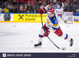 Cologne, Germany. 20th May, 2017. Russia's Ivan Provorov shoots ...