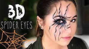3d spider eyes makeup
