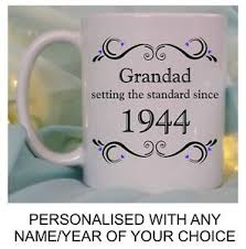 dad grandad birthday gift personalised