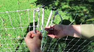 How To Set Up Electric Chicken Fence Youtube