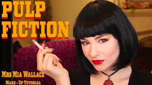 two mia wallace makeup tutorials pulp